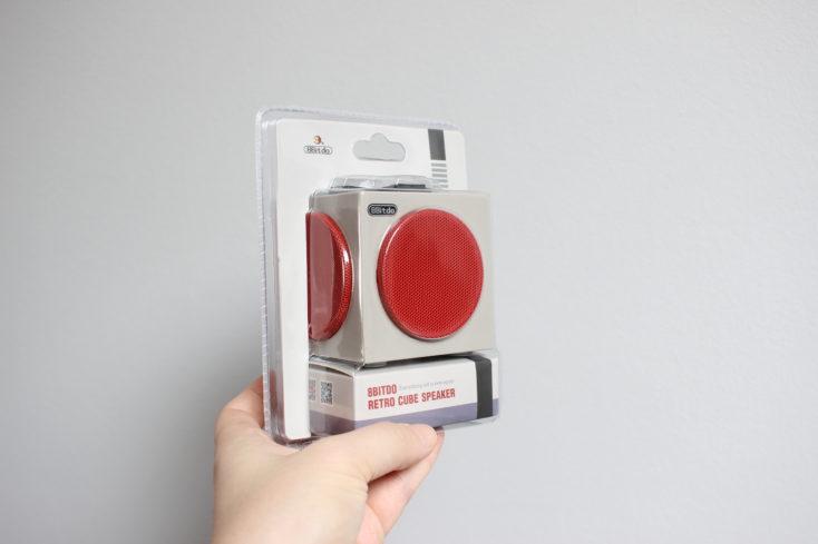 8Bitdo Retro Cube Speaker Plastikverpackung