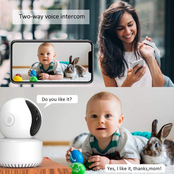 Baby Überwachungskamera Werbung