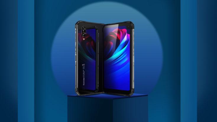 Blackview BV6100 Smartphone Front- und Back