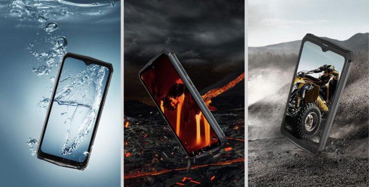 Blackview BV9100 Outdoor-Smartphone IP69K