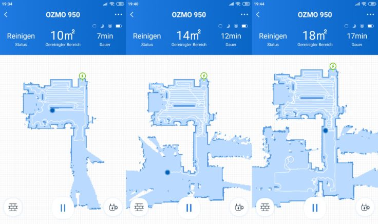 Ecovacs Deebot Ozmo 950 Saugroboter Home App Mapping