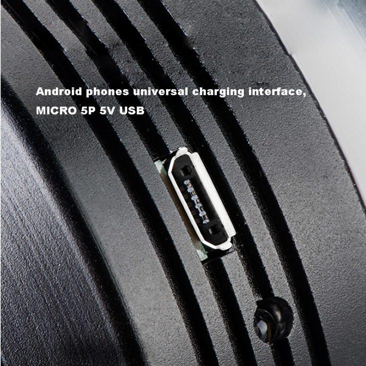 Elektrische Fahrradhupe Micro-USB Slot