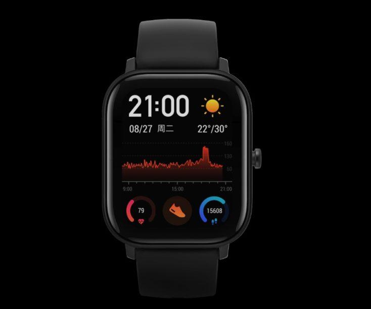 Huami Amazfit Smartwatch GTS Display