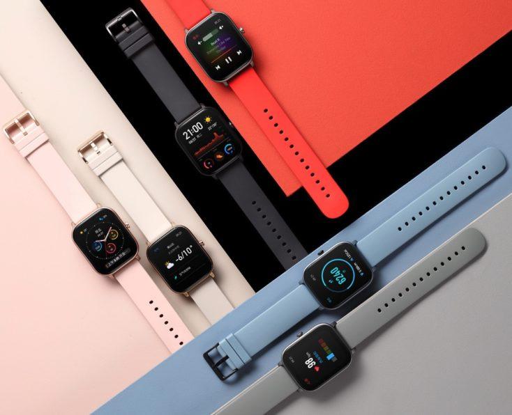 Huami Amazfit Smartwatch GTS Farben