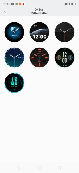 Huami Amazfit Verge Lite Watchfaces