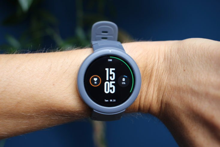 Huami Amazfit Verge Lite am Arm