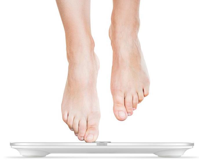 Huawei Honor Smart Scale smarte Waage Gewicht messen