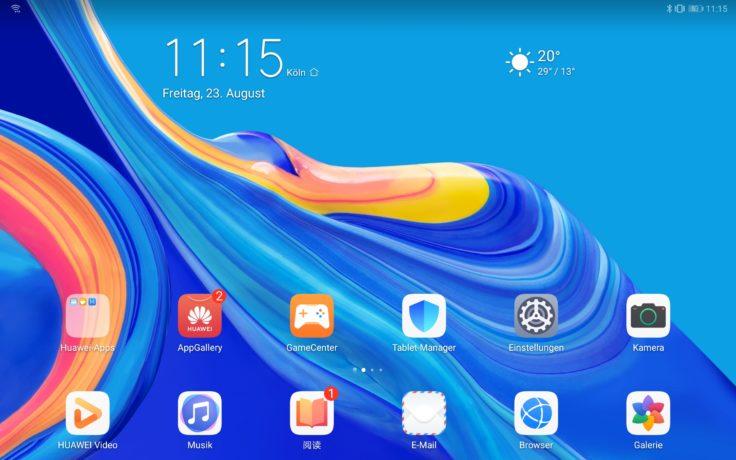 Huawei MediaPad M6 Software