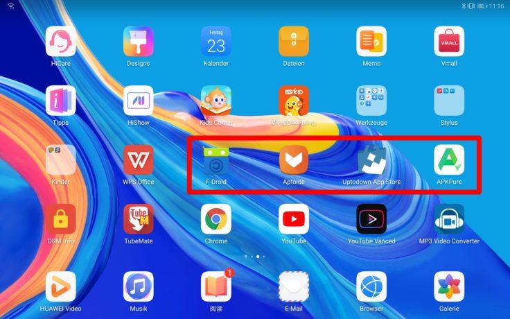 Huawei MediaPad kein Play Store