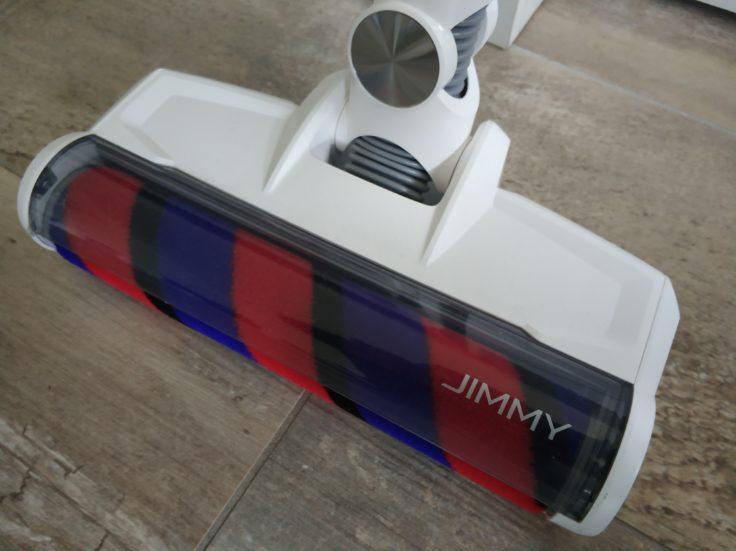 Jimmy JV53 Akkustaubsauger Design Bodenwalze