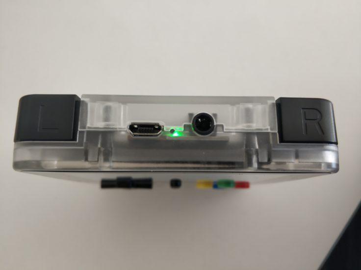 LDK Game Handheld Oberseite Bedienelemente L und R