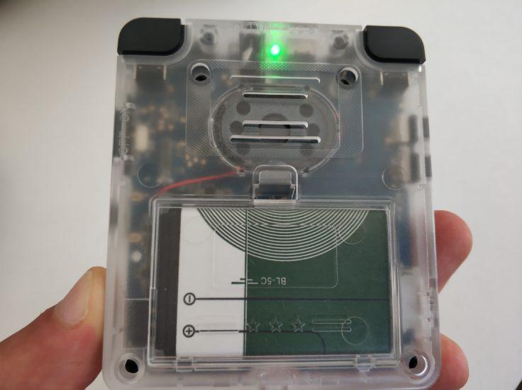 LDK Game Handheld Rückseite
