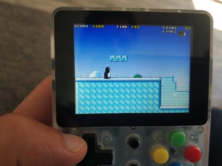 LDK Game Handheld Super Tux