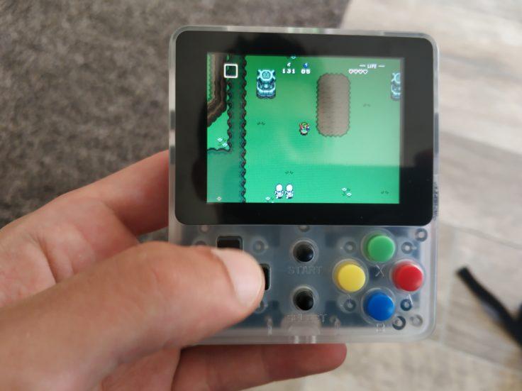 LDK Game Handheld Zelda Spielwelt