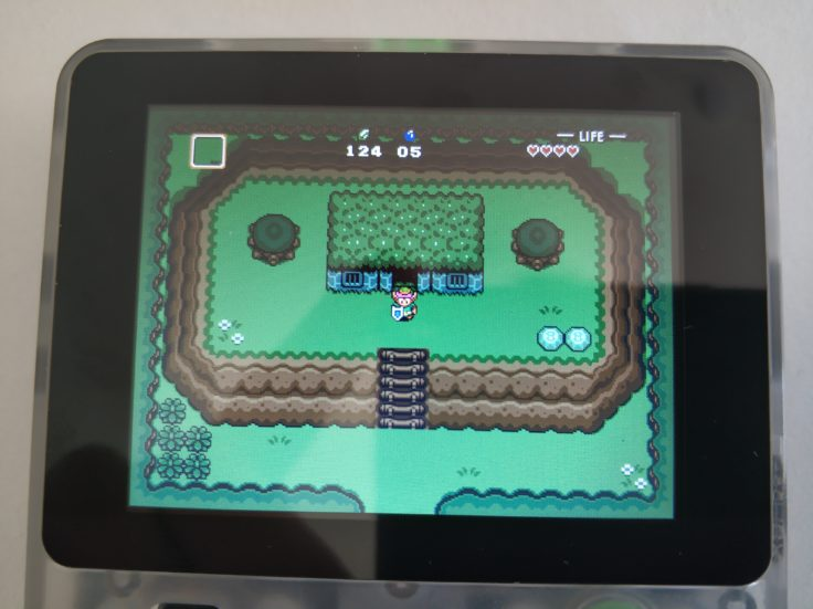 LDK Game Handheld Zelda Start Level