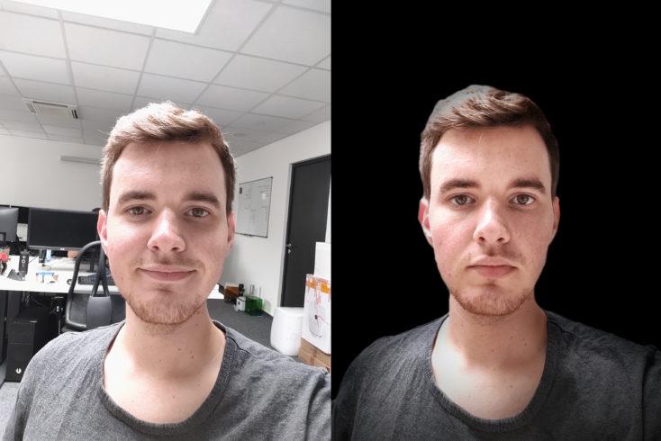Lenovo Z6 Lite Frontkamera Testfoto Portrait Effekt