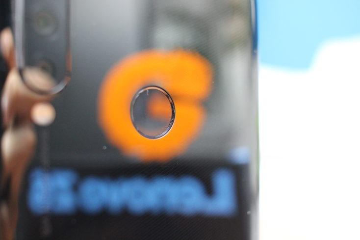Lenovo Z6 Lite Smartphone Fingerabdrucksensor