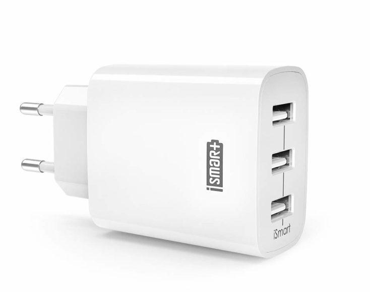 RAVPower USB-Ladegeraet 3 Ports