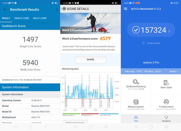 Realme 3 Pro Benchmarks