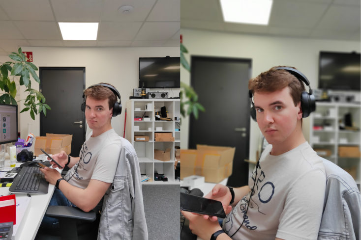 Realme 3 Pro Hauptkamera Testfoto Potrait Vergleich