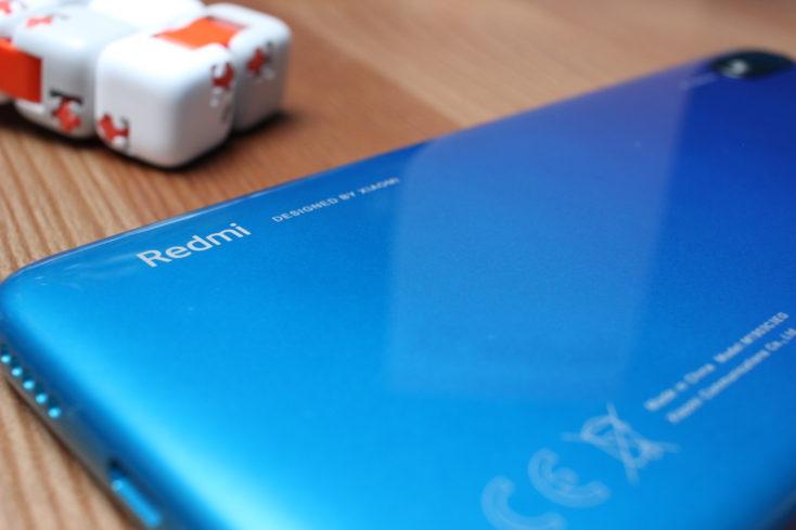 Redmi 7A Smartphone Rückseite Redmi Schriftzug