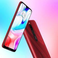 Redmi 8 Smartphone Rot