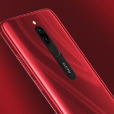 Redmi 8 Smartphone Rot Rueckseite
