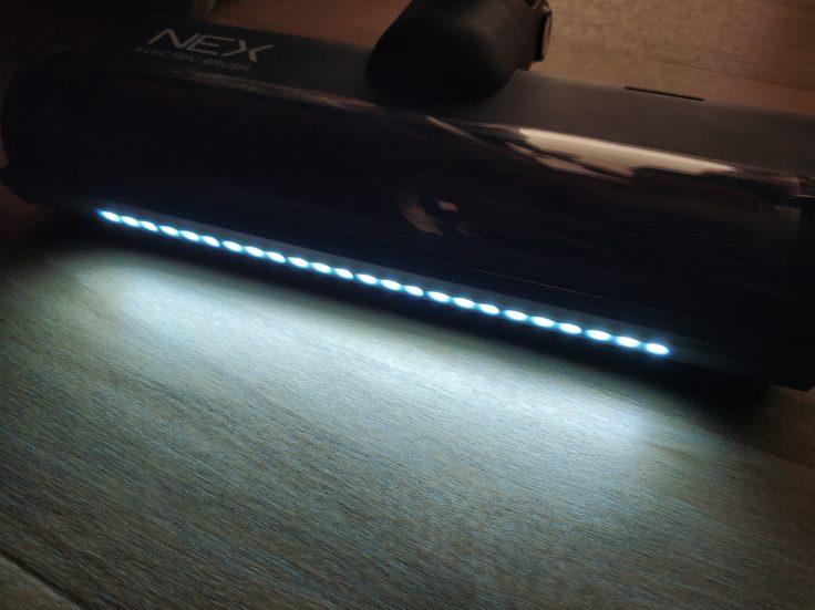 Roidmi NEX Storm Akkustaubsauger LED-Leuchten Dunkelheit