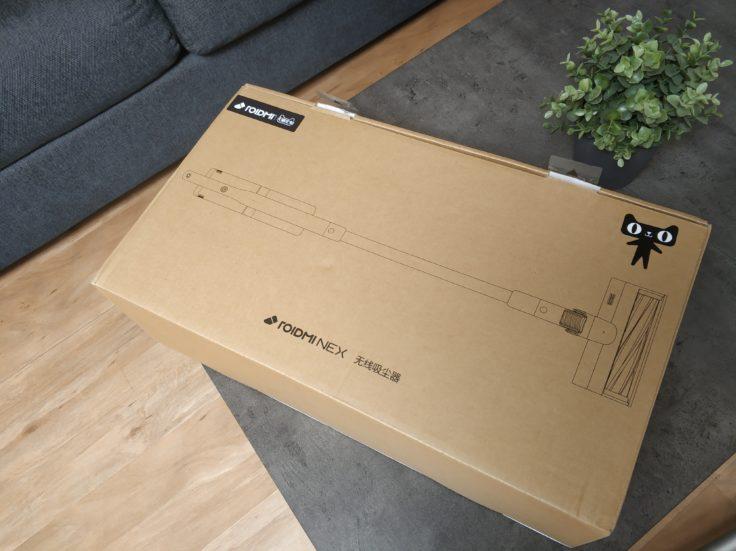 Roidmi NEX Storm Akkustaubsauger Verpackung