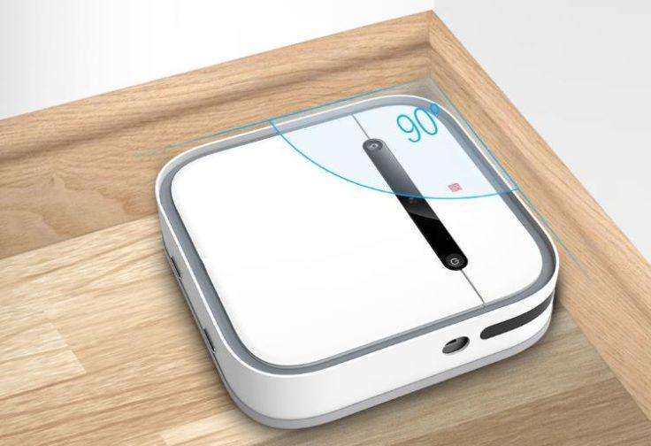 Xiaomi SWDK Saugroboter Form Ecken