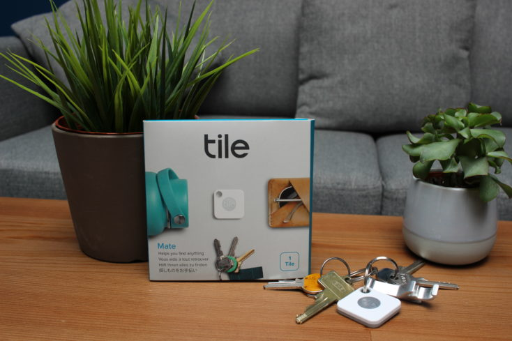 Tile Mate Bluetooth-Tracker Verpackung
