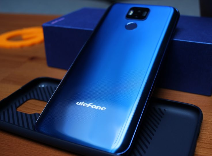 Ulefone Power 6 Rueckseite