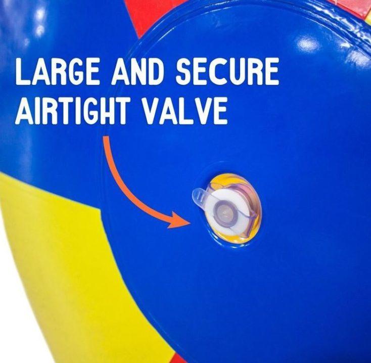 Riesen Strandball Ventil