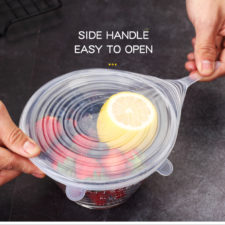 VandHome Silikon-Abdeckung Glasschüssel