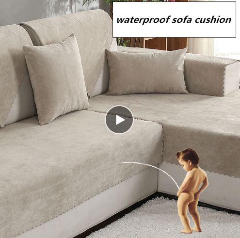 Wasserfestes Sofa Kind pinkelt