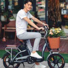 Xiaomi HIMO C16 E-Bike Fahrer