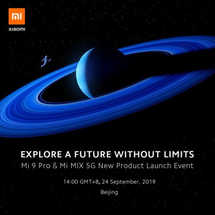 Xiaomi Mi Mix 5G Release