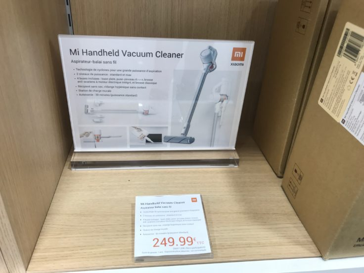 Xiaomi Mijia Handheld Akkustaubsauger Shop Paris