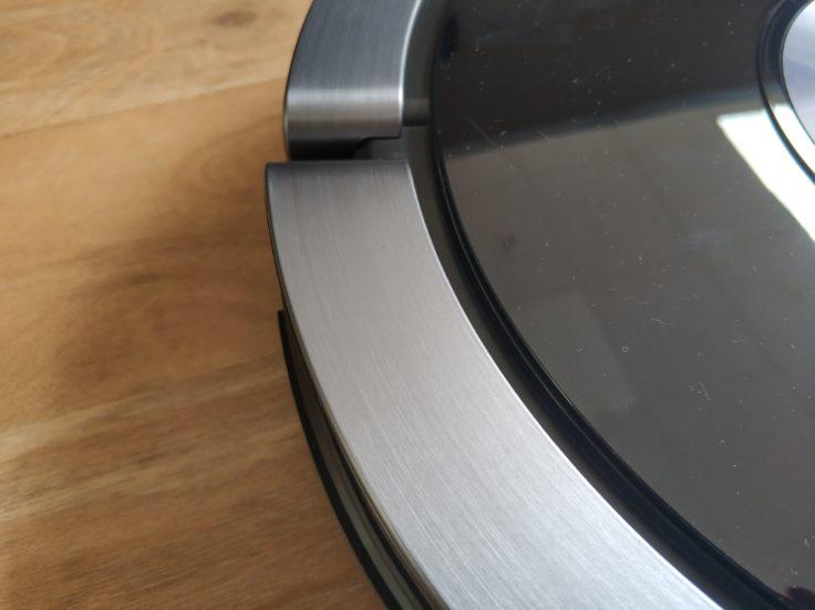ZACO A9S Saugroboter Rand Metall