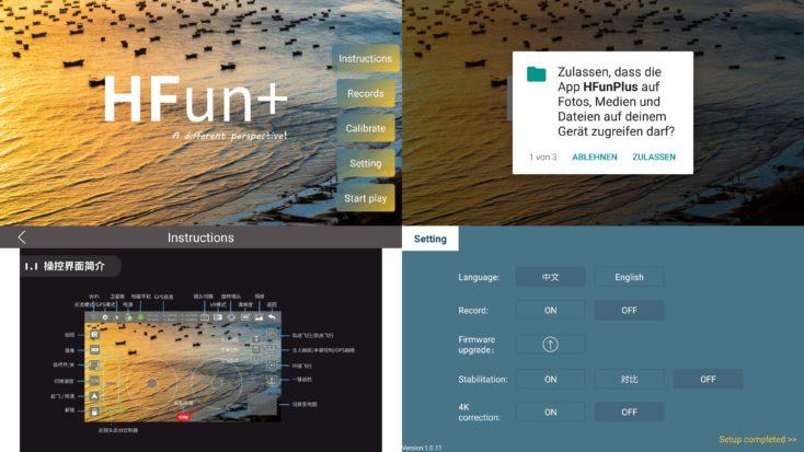 ZLRC Beast HFun+ App einrichten