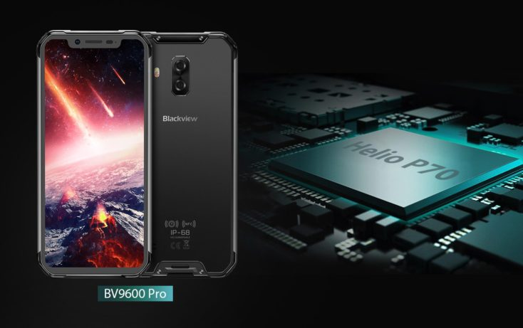 Blackview BV9600 Pro CPU