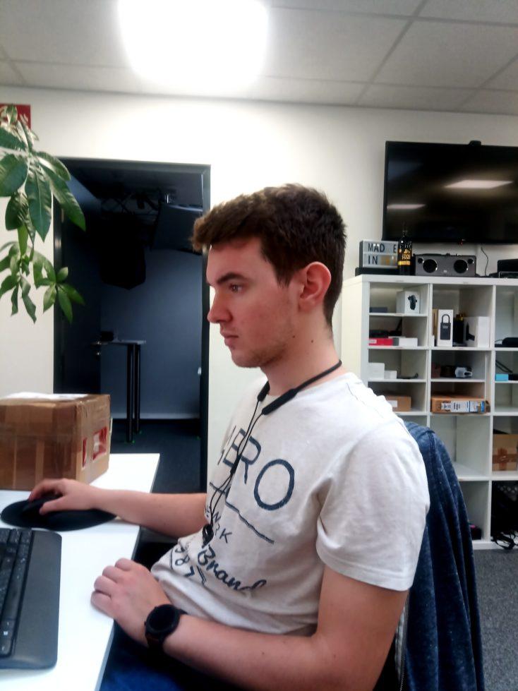 Cubot X20 Pro Testaufnahme Person