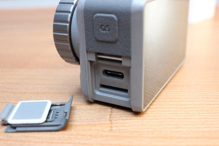 DJI Osmo Action USB C Anschluss