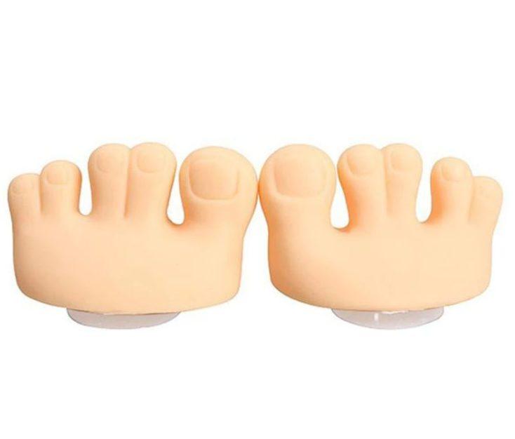 Gummi-Fuß Halterung Paar