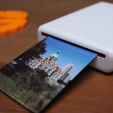 Huawei Fotodrucker druckt Foto