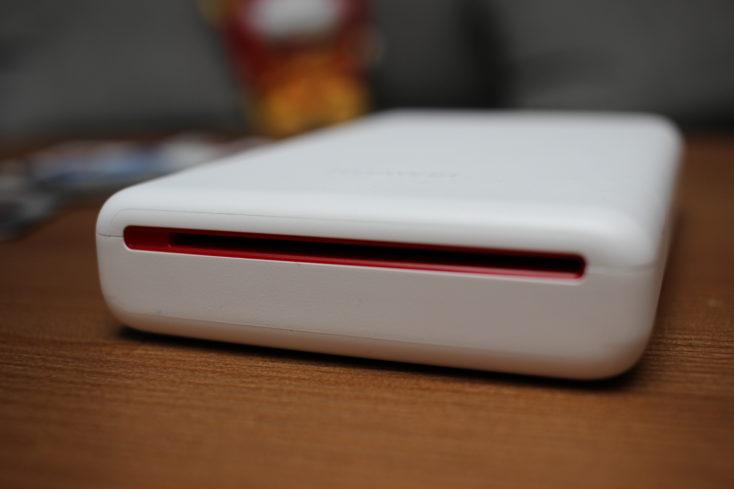 Huawei Fotodrucker Rückseite mit Schlitz
