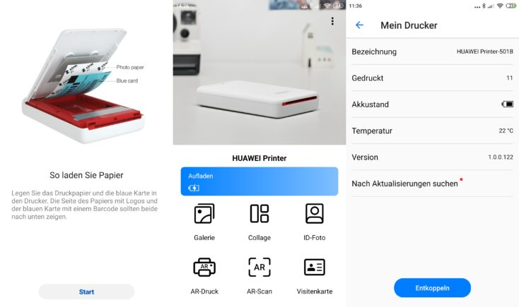 Huawei Printer App
