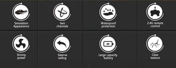JJRC Kroko Boot Features