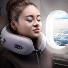 Massage-Nackenkissen Flugzeug