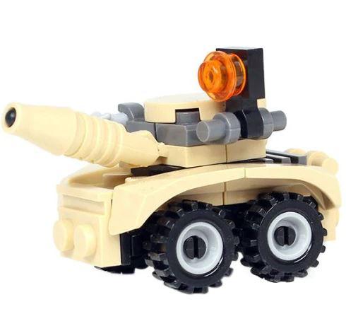 Mini Militärfahrzeug mit Laser